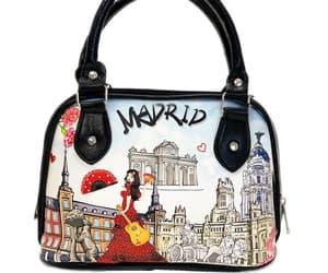 bags, handbag, and madrid image