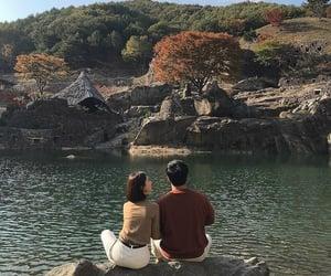autumn, couple, and korea image