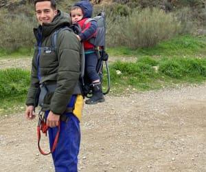 baby, lucas jr, and lucas vazquez rodriguez image