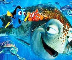disney, nemo, and ocean image