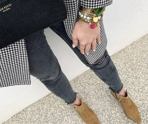 ankle boots, arm candy, and watch image