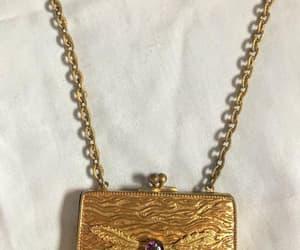 etsy, vintage wedding, and vintage gold purse image