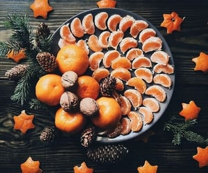 christmas and fruit image