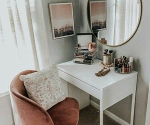 room, house, and makeup image