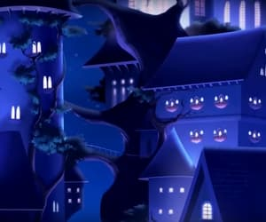 animation, castle, and school image