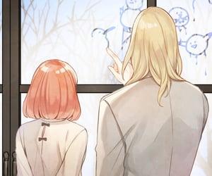 anime, couple, and utapri image