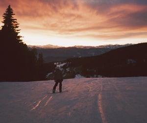 landscapes, natural, and sunset image