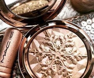 cosmetics, highlighter, and skin care image