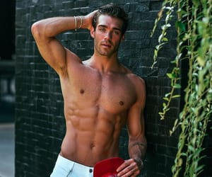 blue eyes, Hottie, and male model image