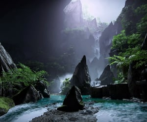 adventure, jagged, and nature image