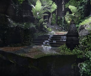 flora, Temple, and wet image