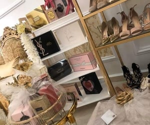 bride, parfum, and shoes image