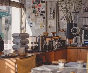 aesthetic, cofee, and gray image