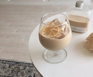 cream, glace, and drink image
