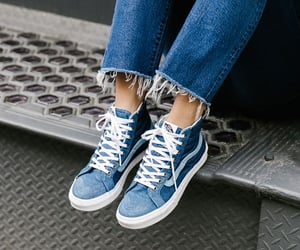 blue, jeans, and girl image