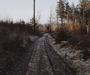 countryside, winter, and seldom image