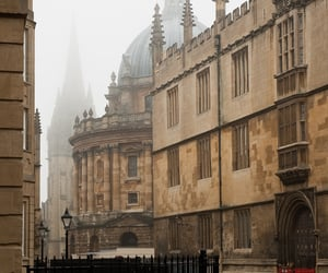 city, oxford, and bike image