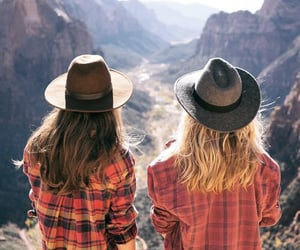 friends, best friends, and hat image