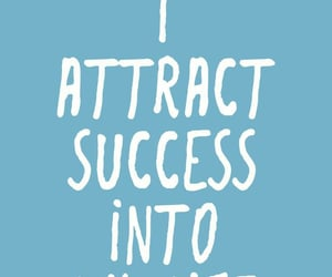 affirmation, blue, and success image