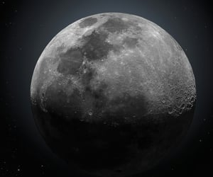 hdr, lunar, and moon image