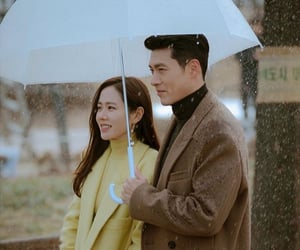hyun bin, son ye jin, and crash landing on you image