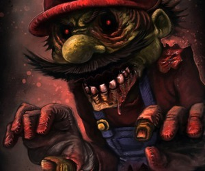 geekery, zombie, and mario image