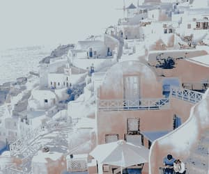 pink, travel, and Greece image