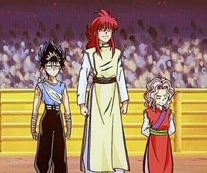 yu yu hakusho, hiei, and yoko kurama image