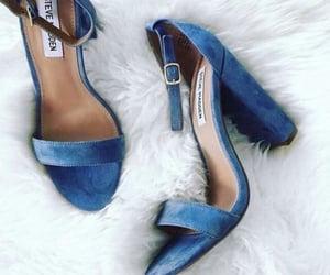 blue, elegance, and fashionista image