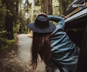 adventure, nature, and car image