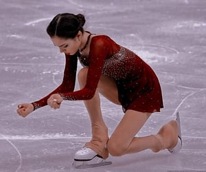 figure skating, russian, and ice image
