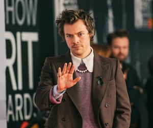 Harry Styles and brit awards image