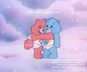 care bears, my melody, and pastel image