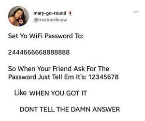 answer, lol, and wifi image