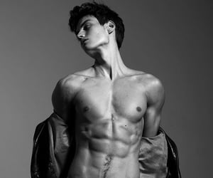 abs, boys, and model image
