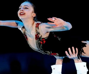 figure skating, ice, and russia image