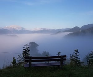 mist, view, and nature image