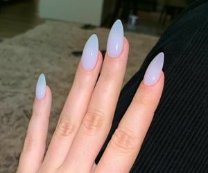 nails, hand, and manicure image