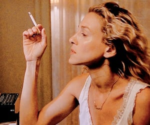 1990s, Carrie Bradshaw, and cigarettes image