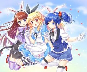alice in wonderland, aikatsu, and anime image