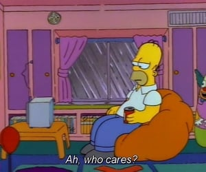 90s, mood, and the simpsons image