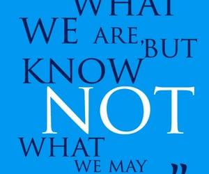 blue, william shakespeare, and citati image