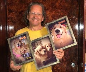 birthday, custom, and dogs image