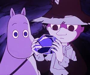 moomin, 90s, and anime image