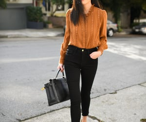 fashion, fashion blogger, and outfit image