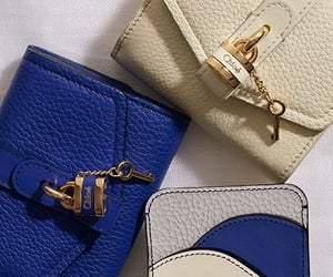 bags, blue, and chic image