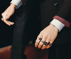 hands, brit awards, and Harry Styles image