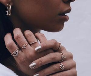 details, earings, and elegant image