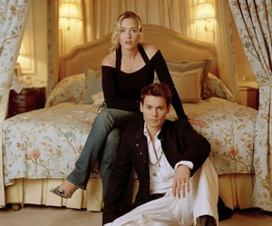 johnny depp and kate winslet image