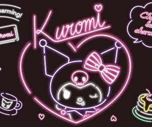 kuromi, sanrio, and wallpaper image
